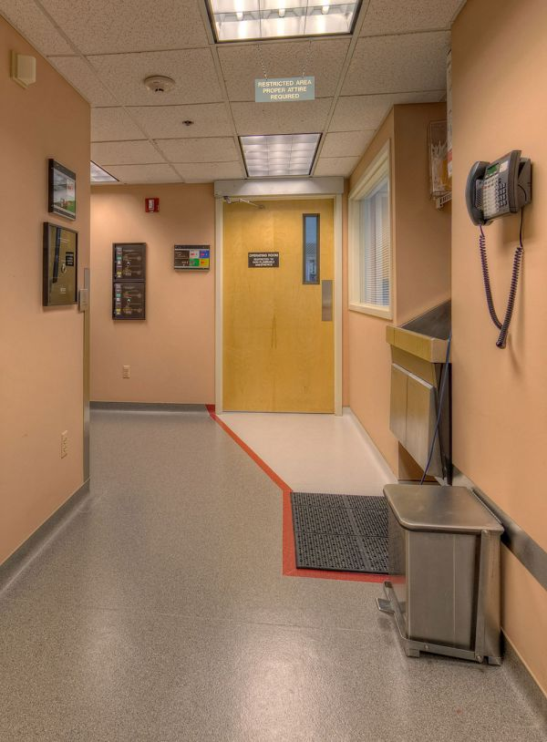 Hallway to the OR